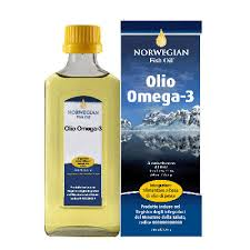 Norwegian Fish Oil Olio Omega 3 Liquido 240 ml