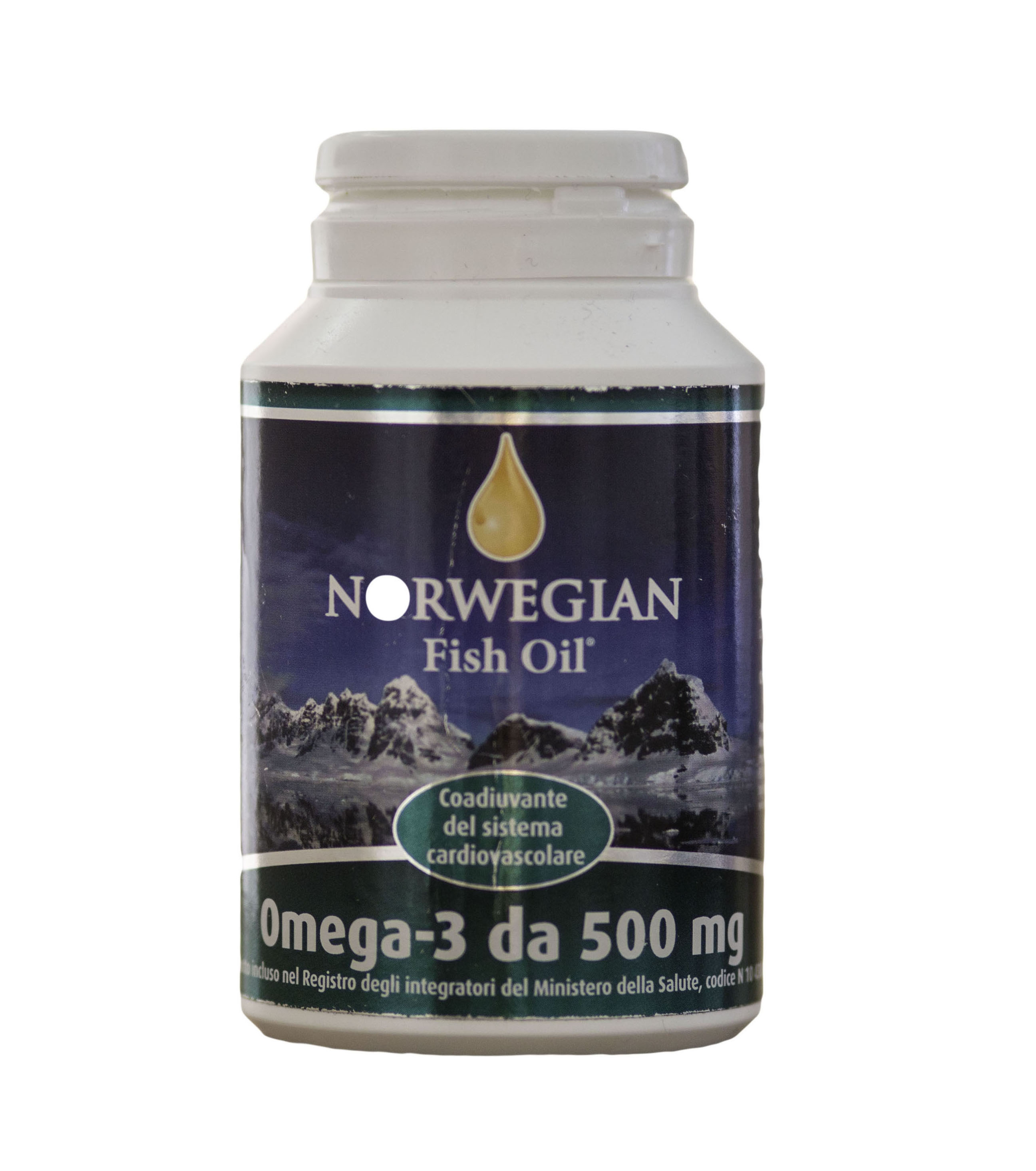 Norwegian Fish Oil Omega 3 Capsule 500 Mg
