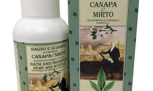 Derbe Speziali Fiorentini Bagno-Shampoo Canapa e Mirto 250 ml