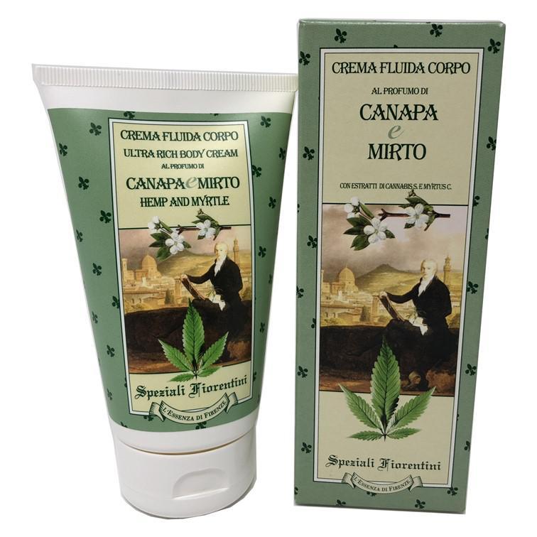 Derbe Speziali Fiorentini Crema Fluida Canapa e Mirto 150 ml