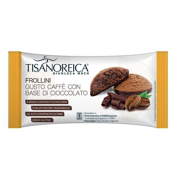 Tisanoreica Vita Frollini Gusto Caffè Base Cioccolato 50 Gr